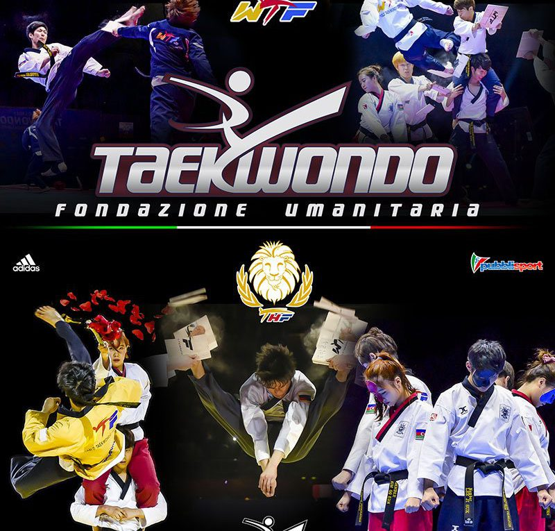 Taekwondo Humanitarian Foundation, il tour Italiano